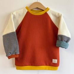 Oktopulli - Bio Kinder Sweatshirt zum Mitwachsen