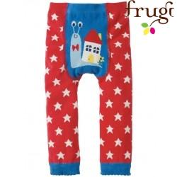 frugi - Baby Leggings mit Sternen und Schnecke