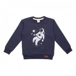 Walkiddy - Bio Kinder Sweatshirt mit Astronauten-Druck