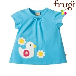 """frugi - Bio Baby T-Shirt """"Amber"""" mit Enten-Motiv"""