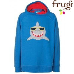 Frugi - Kinder Sweatshirt mit Hai-Applikation