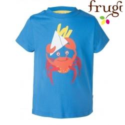 frugi - Kinder T-Shirt mit Krabben-Motiv