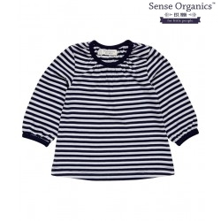 """Sense Organics - Bio Kinder Langarmshirt """"Selly"""" mit Streifen"""