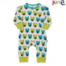 kite kids - Bio Baby Strampler mit Zebra-Motiv