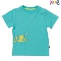 kite kids - Bio Baby T-Shirt mit Krake