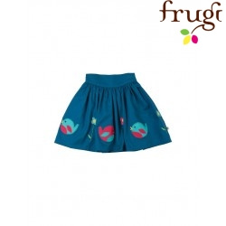 "frugi - Bio Kinder Rock ""Leah"" mit Vogel-Motiven"