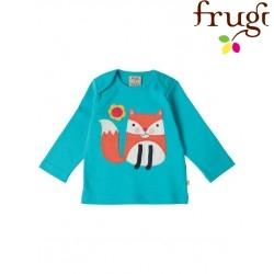 """frugi - Bio Baby Langarmshirt """"Bobby"""" mit Fuchs-Motiv"""