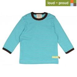 loud + proud - Bio Baby Langarmshirt mit Streifen