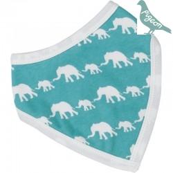Pigeon - Bio Baby Tuch mit Elefanten-Motiv