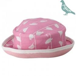 Pigeon - Bio Baby Sonnenhut mit Vogel-Motiv