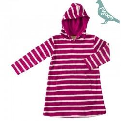 Pigeon - Bio Kinder Frottee Kleid mit Streifen