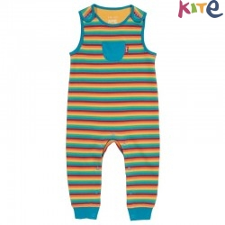 kite kids - Bio Baby Strampler Regenbogen