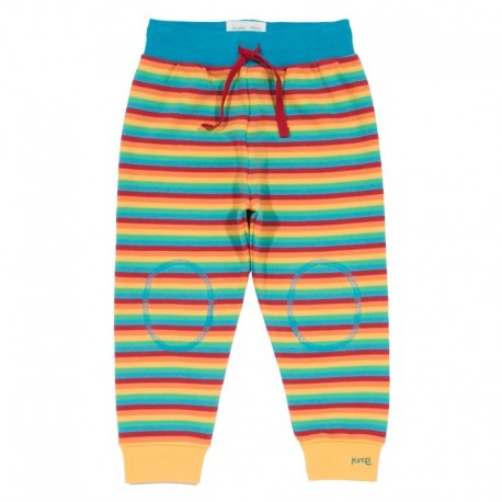kite kids - Bio Kinder Sweathose Regenbogen