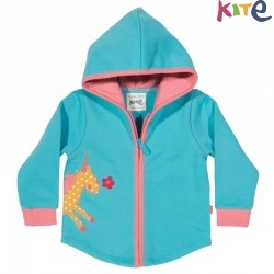 kite kids - Bio Baby Sweatjacke mit Einhorn-Motiv