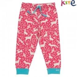 kite kids - Bio Baby Sweathose mit Waldtier-Motiv