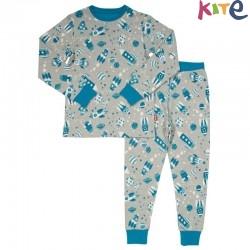 kite kids - Bio Kinder Schlafanzug Raumfahrt