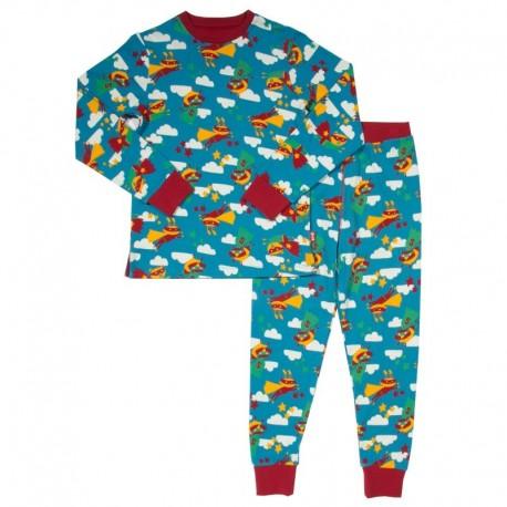 kite kids - Bio Kinder Schlafanzug Superhelden