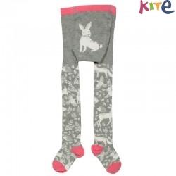 kite kids - Kinder Strumpfhose mit Waldtieren-Motiv