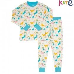 kite kids - Bio Kinder Schlafanzug Einhörner