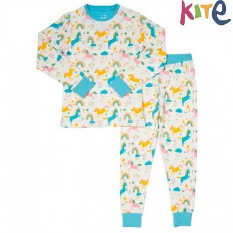5819d5d15b kite kids - Bio Kinder Schlafanzug Einhörner - Naturzwerge Kindermode