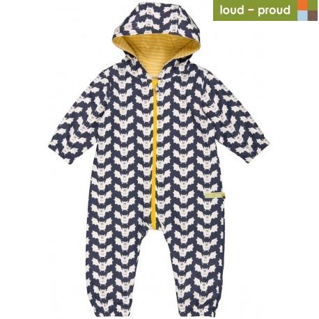 9f0761aaaaf647 loud + proud - Bio Baby Overall mit Fledermaus-Druck ...