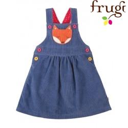 """frugi - Bio Baby Cord Kleid """"Doris"""" mit Fuchs-Motiv"""