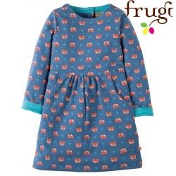"""frugi - Bio Kinder Kleid """"Lulu"""" mit Fuchs-Motiv"""