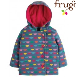"frugi - Bio Kinder Sweat Jacke ""Cosy Button"""