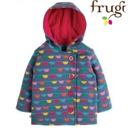 "frugi - Bio Kinder Sweat Jacke ""Cosy Button"""