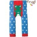 frugi - Baby Leggings mit Sternen und Frosch-Motiv