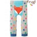 frugi - Baby Leggings mit Punkten und Fuchs-Motiv