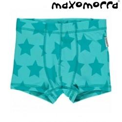 Maxomorra - Bio Kinder Hipshorts mit Sternen-Motiv