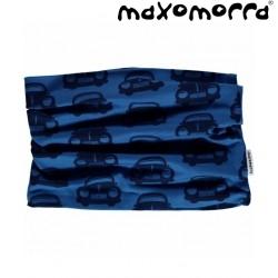 Maxomorra - Bio Kinder Schlauchschal mit Auto-Motiv