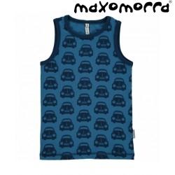 Maxomorra - Bio Kinder Unterhemd mit Auto-Motiv