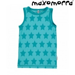 Maxomorra - Bio Kinder Unterhemd mit Sternen-Motiv