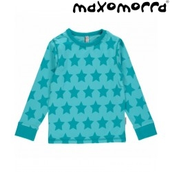 Maxomorra - Bio Kinder Langarmshirt mit Sternen-Motiv