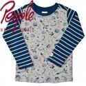 People Wear Organic - Bio Kinder Langarmshirt mit Weltall-Motiv