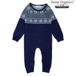 "Sense Organics - Bio Baby Strick Strampler ""Hugo"""