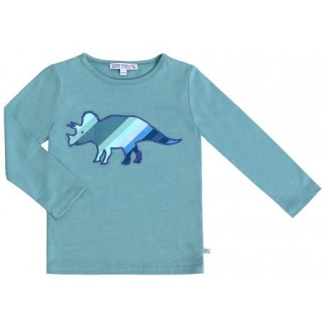 Enfant Terrible - Bio Kinder Langarmshirt mit Dino-Motiv