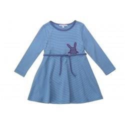 Enfant Terrible - Bio Kinder Shirtkleid mit Hasen-Motiv