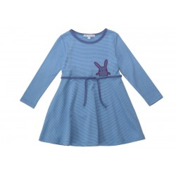Enfant Terrible - Bio Kinder Shirtkleid mit Hasen-Motiv