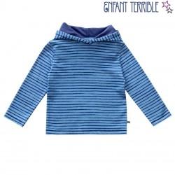 Enfant Terrible - Bio Kinder Sweatshirt mit Streifen