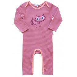 Enfant Terrible - Bio Baby Strampler mit Katzen-Motiv