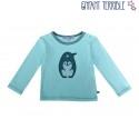 Enfant Terrible - Bio Baby Langarmshirt mit Pinguin-Applikation