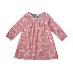 Enfant Terrible - Bio Kinder Kleid mit Blumen-Motiv