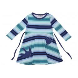 Enfant Terrible - Bio Kinder Shirtkleid mit Schwalben-Motiv