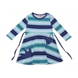 Enfant Terrible - Bio Kinder Shirtkleid mit Schwalben-Motiv