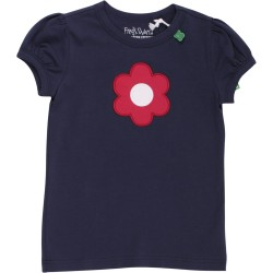 Fred`s World by Green Cotton - Bio Baby T-Shirt mit Blume