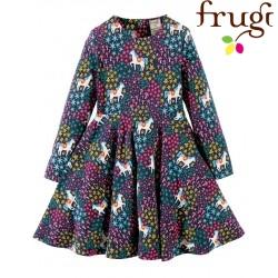 """frugi - Bio Kinder Jersey Kleid """"Sofia"""" mit Einhorn-Motiv"""