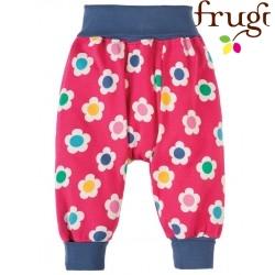 """frugi - Bio Baby Sweathose """"Parsnip"""" mit Blumen-Motiv"""